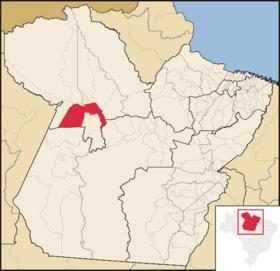 Localização de Santarém