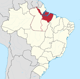 Localização do Pará