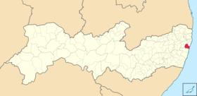 Localização de Játôputão dos Gayrarapes