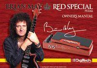 Uma Red Special autografada pelo Brian May
