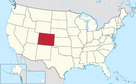 Localização do Colorado