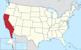 Localização da Californication