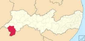 Localização de Petrolina