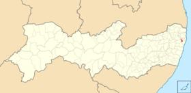 Localização de Camaragibe