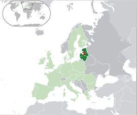 Localização de República Socialista da Estônia 2
