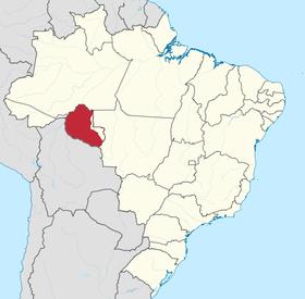 Localização de Roubônia