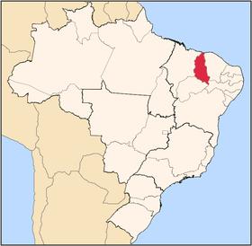 Localização do Piauí