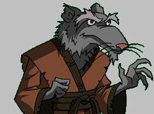 Mestre Splinter, um dos maiores ratos da atualidade.