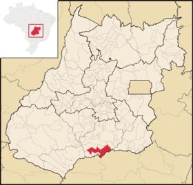 Localização de Itumbiara