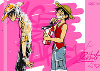 Ace Luffy by olafpriol.JPG