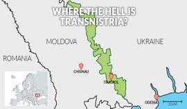 Localização de Transdnístria
