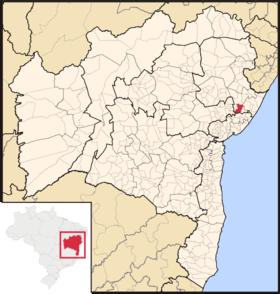 Localização de Alagoinhas