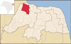 Localização de Macorongó