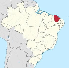 Localização do República Dependente do Ceará