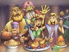 Um momento histórico: O DINNER!