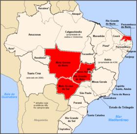 Localização do República Socialista Norteriograndece