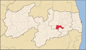 Localização de Campina Grande