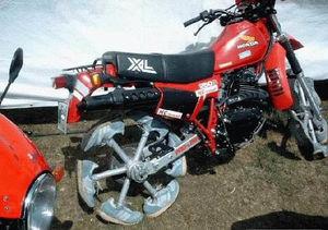 guidon moto harley davidson