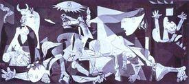 Um Quadro do Picasso: Guernica