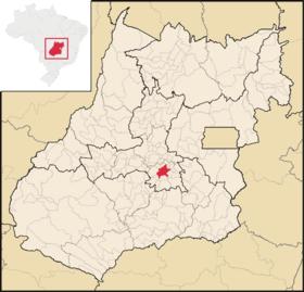 Localização de Goiânia