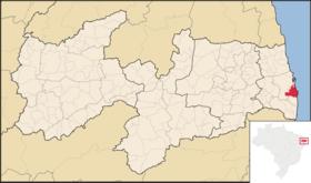 Localização de John Person