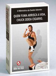 Nova campanha do Ministério da Saúde, em combate ao elevado consumo de tabaco entre a população.