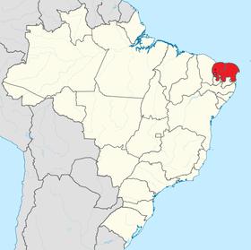 Localização do República Socialista Norte-riograndense