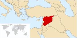 Localização de Rodovia de Terra da Jordânia