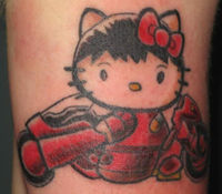 Hello kitty shotaro kaneda tattoo akira manga anime.jpg