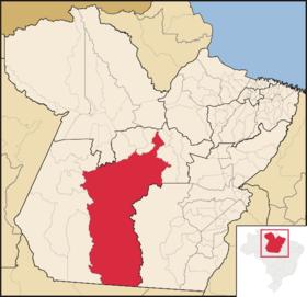Localização de Altamira