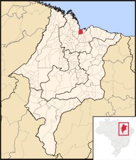 Localização de Seu Luís