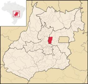 Localização de Pirinópolis