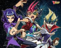 Kaito, Yuma e Shark, os principais de Zexal..jpg