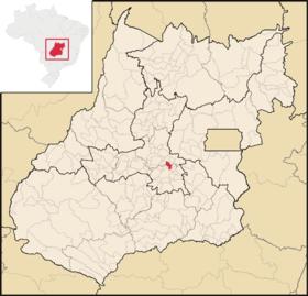 Localização de Nerópolis