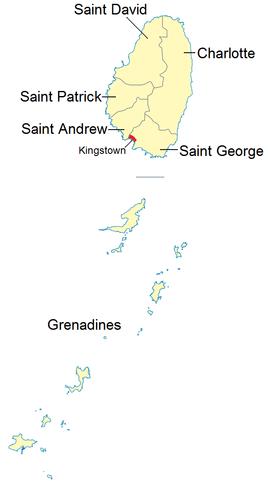Subdivisões de São Vicente e Granadinas.png