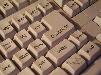 Um teclado feito para falantes da língua