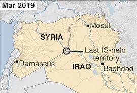 Localização de Estado Islâmico