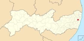 Localização de Moreno (ui!)