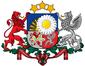 Brasão de Armas da Letônia