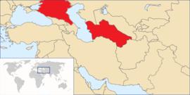 Localização de Turcos emos ali Estão