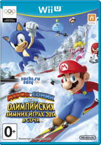 419px-Mario & Sonic at the Sochi 2014 Olympic Winter Games Russian boxart.png