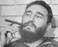 Fidel vivia com algo redondo dentro da boca
