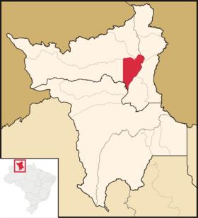 Localização de Má Vista