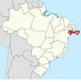 Localização de Ser Jipe