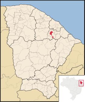 Localização de Baturité