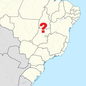 Localização de Roraima
