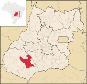 Localização de Green River
