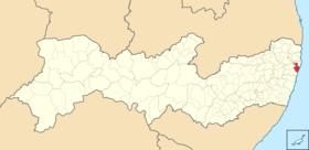 Localização de Mauritsstad