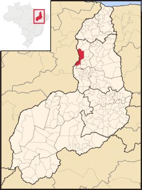 Localização de Theresinha