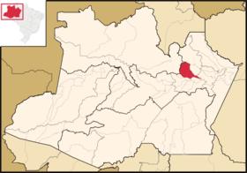 Localização de Manaó
